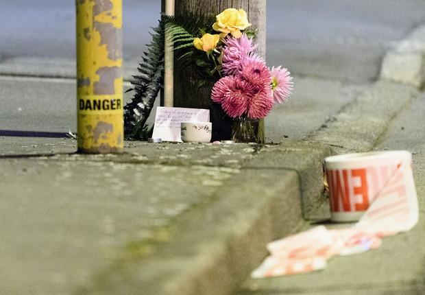 49 pessoas foram confirmadas mortas e mais de 20 ficaram feridas após ataques em duas mesquitas em Christchurch (Foto: Kai Schwoerer/Getty Images)