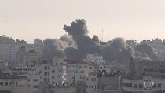 Conflito entre israelenses e militantes palestinos da Faixa de Gaza deixa mortos