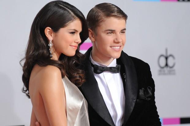 Justin Bieber e Selena Gomez  (Foto: Gettyimages)