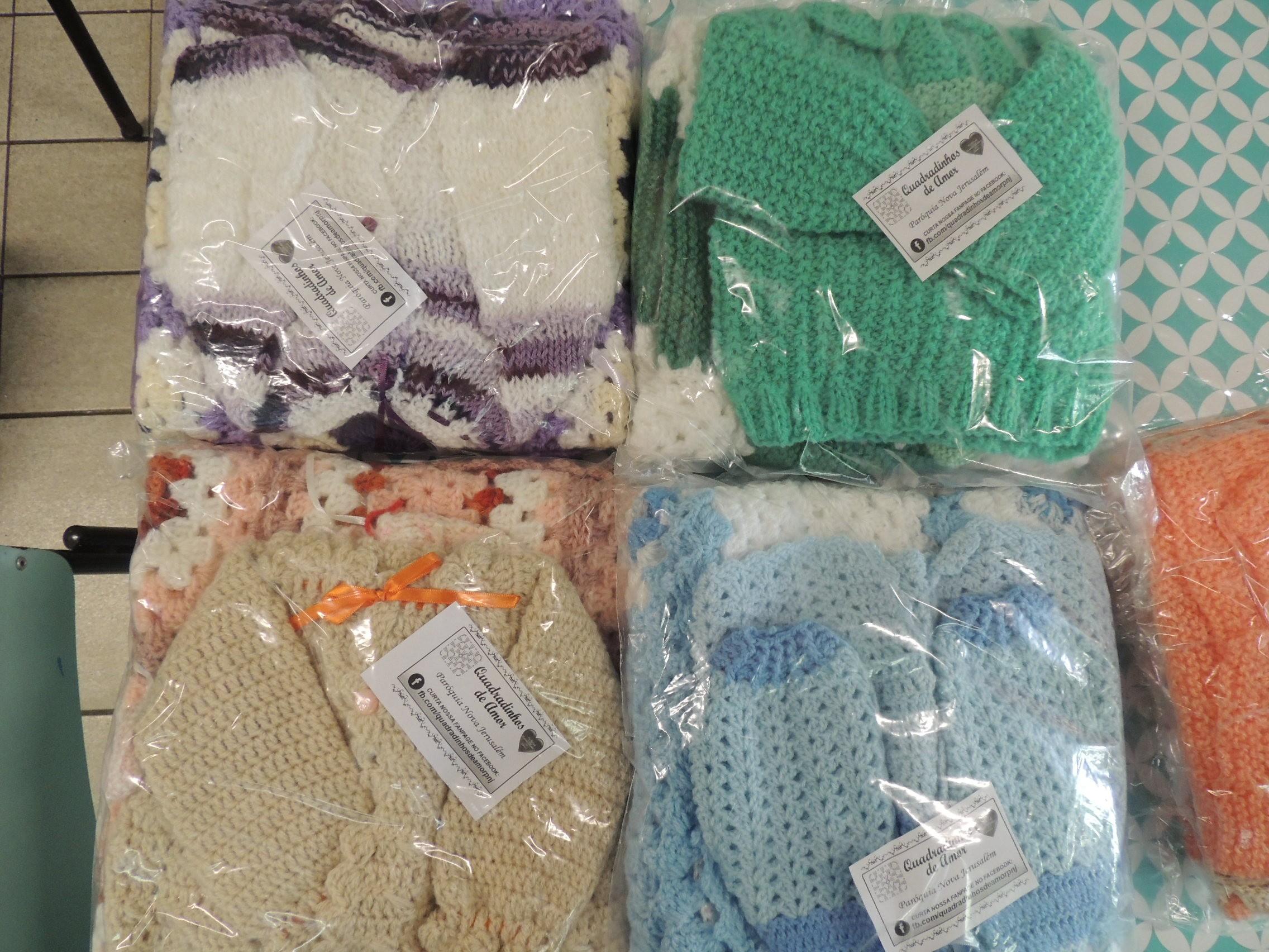 Grupo voluntário pede doação de lã para produzir enxovais para recém-nascidos em hospital de Jundiaí