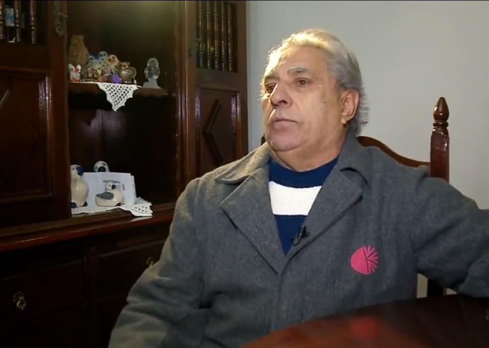 Aposentado da CEEE teme perder direitos — Foto: Reprodução/RBS TV