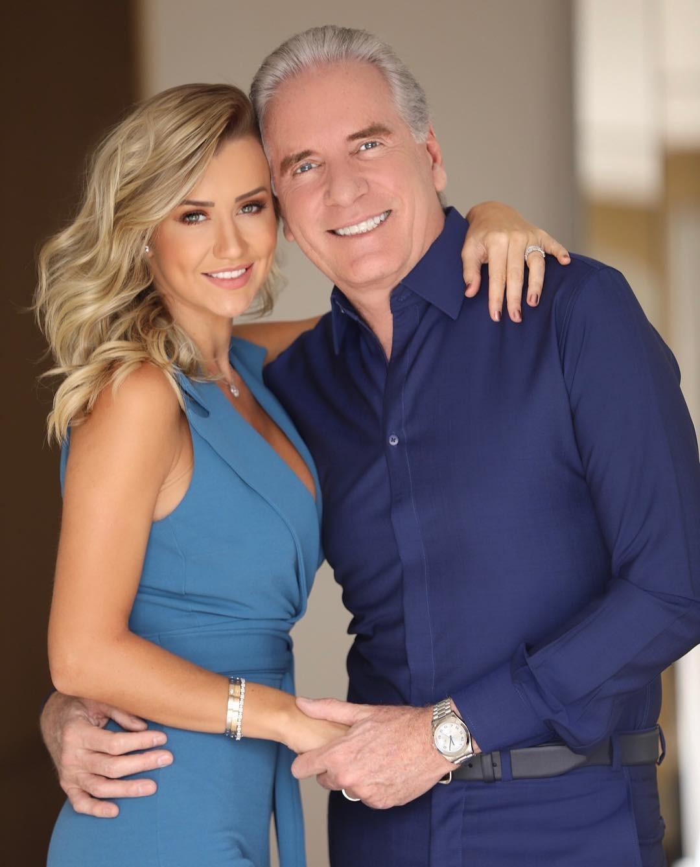 Roberto Justus e Ana Paula Siebert: Na torcida com o meu amor (Foto: Reprodução/Instagram)