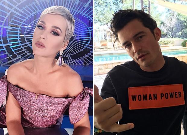 Katy Perry e Orlando Bloom (Foto: Reprodução / Instagram)