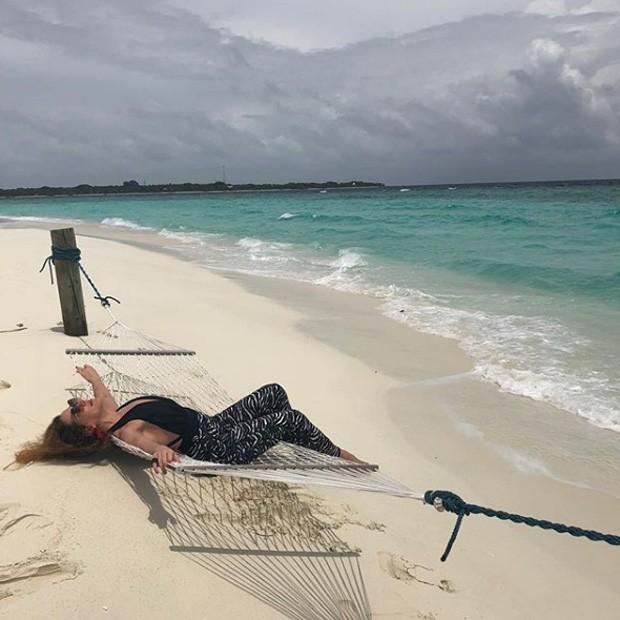 Claudia Raia nas Ilhas Maldivas (Foto: Reprodução / Instagram)
