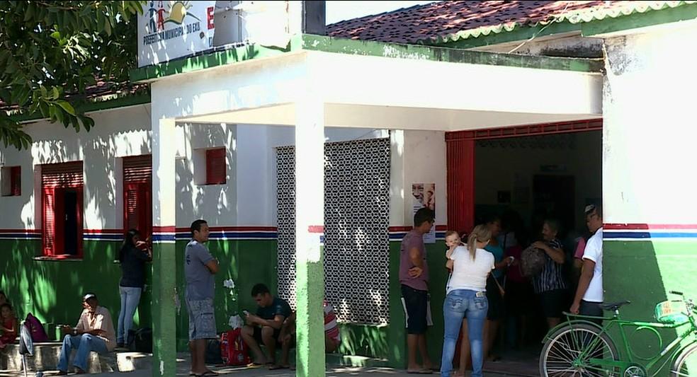 Moradores de Exu enfrentam problemas para ter atendimento médico (Foto: Reprodução / TV Grande Rio)
