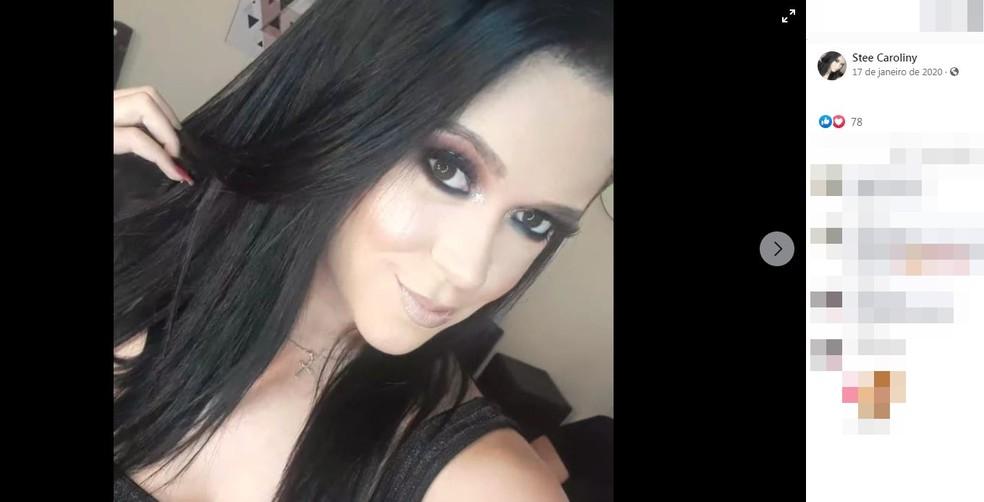 Stefany Caroliny de Paula Alves morreu após carro capotar em Votuporanga (SP) — Foto: Reprodução/Facebook