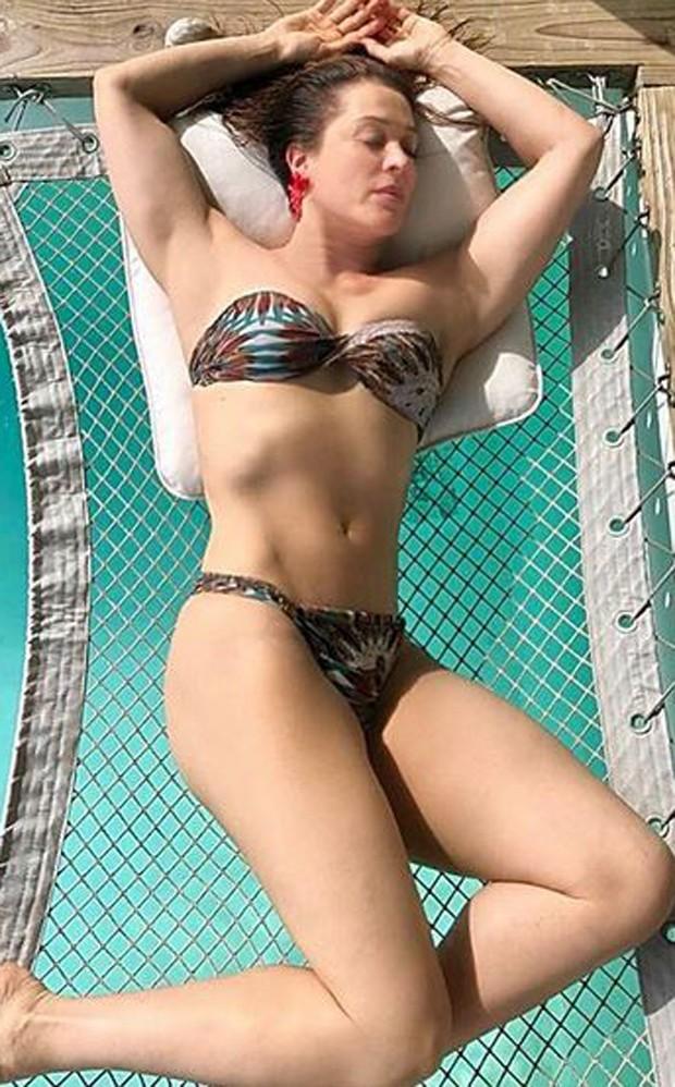 Claudia Raia exibe corpão nas Maldivas (Foto: Reprodução/Instagram)