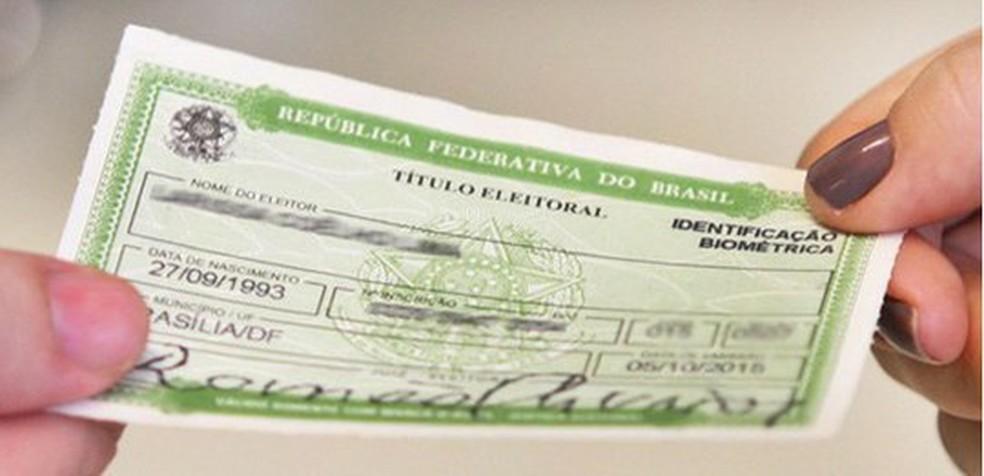 No Paraná, 114.625 eleitores estavam irregulares porque deixaram de votar em três eleições seguidas  — Foto: TSE