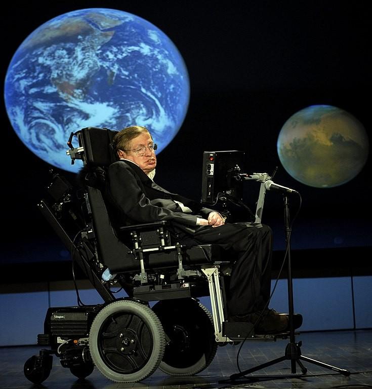 Stephen Hawking (Foto: NASA/Paul Alers/Wikimedia Commons)