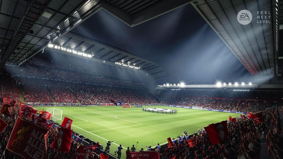FIFA 21 trouxe belos visuais com o poder de consoles da nova geração e novo jogo deve apresentar ainda mais novidades — Foto: Reprodução/Electronic Arts