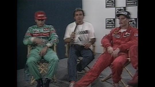 Maurício Gugelmin subiu pela única vez ao pódio na Fórmula 1 na última prova no Rio, há 30 anos