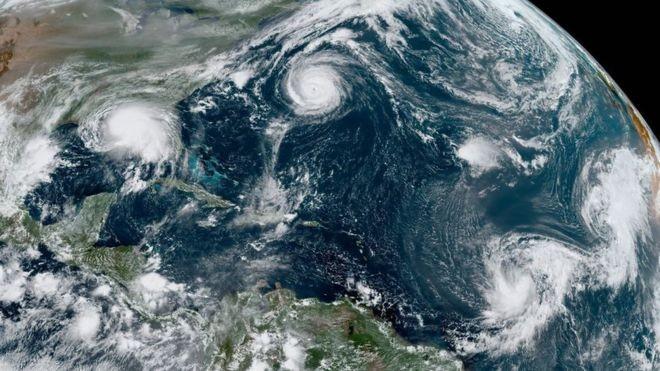 Como temporada agitada deve levar ao uso de letras gregas para nomear furacões