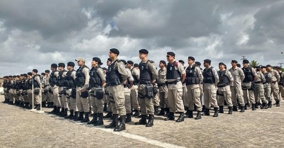 Polícia Militartem 900 vagas para soldado (Foto: Wagner Varela/PMPB/Arquivo)