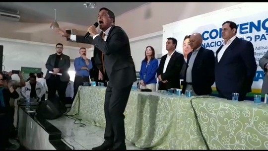 Patriota oficializa candidatura de Cabo Daciolo à Presidência