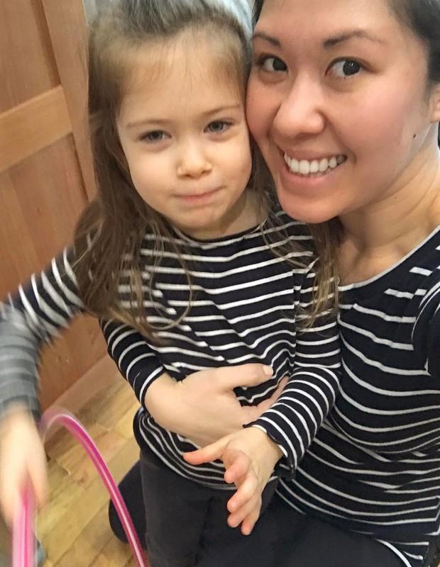 Ruthie Ann Miles e sua filha Abigail (Foto: Instagram/Reprodução)
