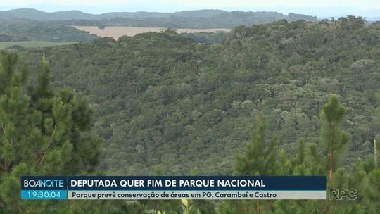 Deputada federal do PSL quer o fim do Parque Nacional dos Campos Gerais
