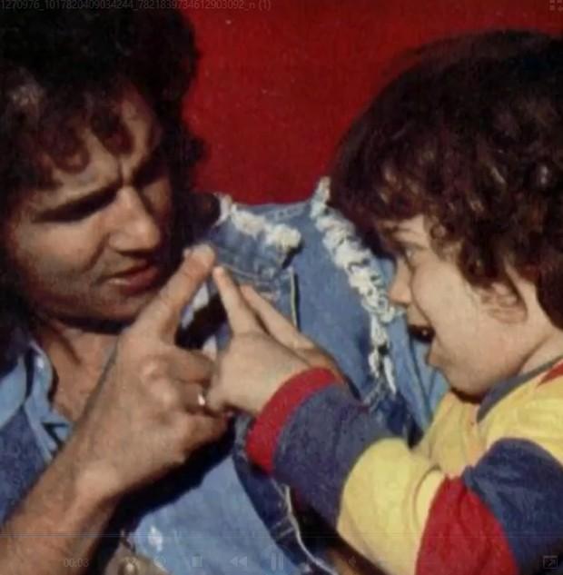 Roberto Carlos divulga vídeo de momentos com Dudu Braga (1968-2021) (Foto: Reprodução/Instagram)