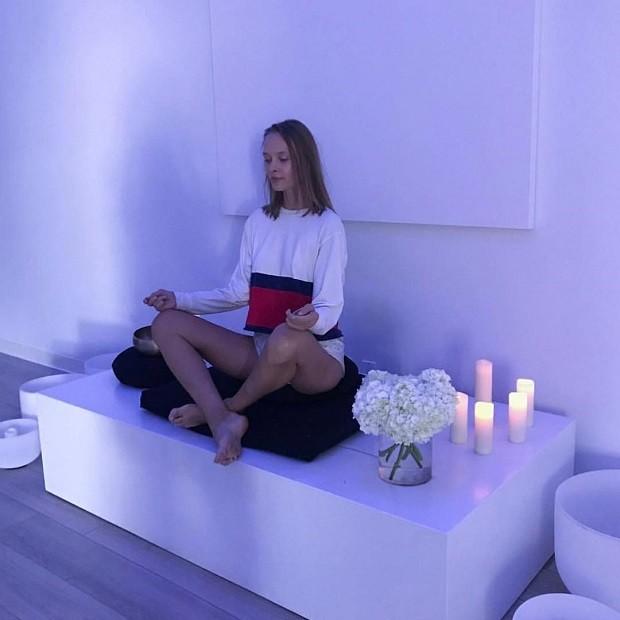 Unplug Meditation (Foto: Reprodução/Instagram)