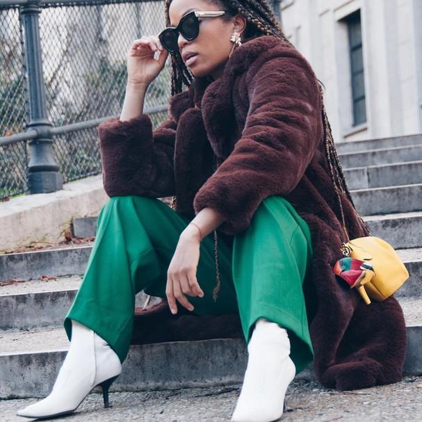 A bota branca é uma das maiores aposta do inverno (Foto: Reprodução Instagram)