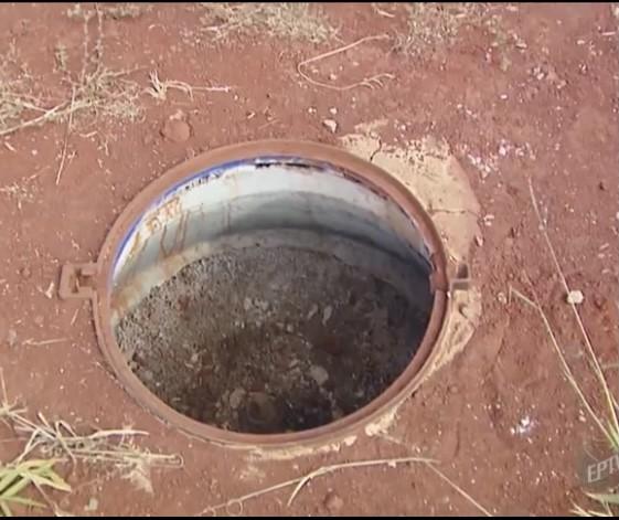 Pirassununga registra 6 furtos de tampas dos poços de esgoto das vias públicas em apenas 30 dias