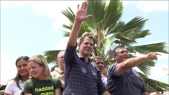 Veja as atividades de campanha do candidato Fernando Haddad