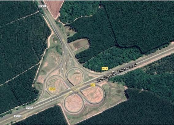 Trevo da SP-225 em Cabrália Paulista ficará interditado para obras no pavimento por 5 dias
