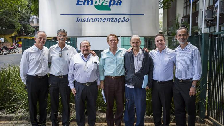 embrapa-instrumentacao-chefes (Foto: Embrapa Instrumentação)