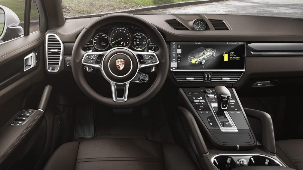Porsche Cayenne E-Hybrid — Foto: Divulgação/Porsche