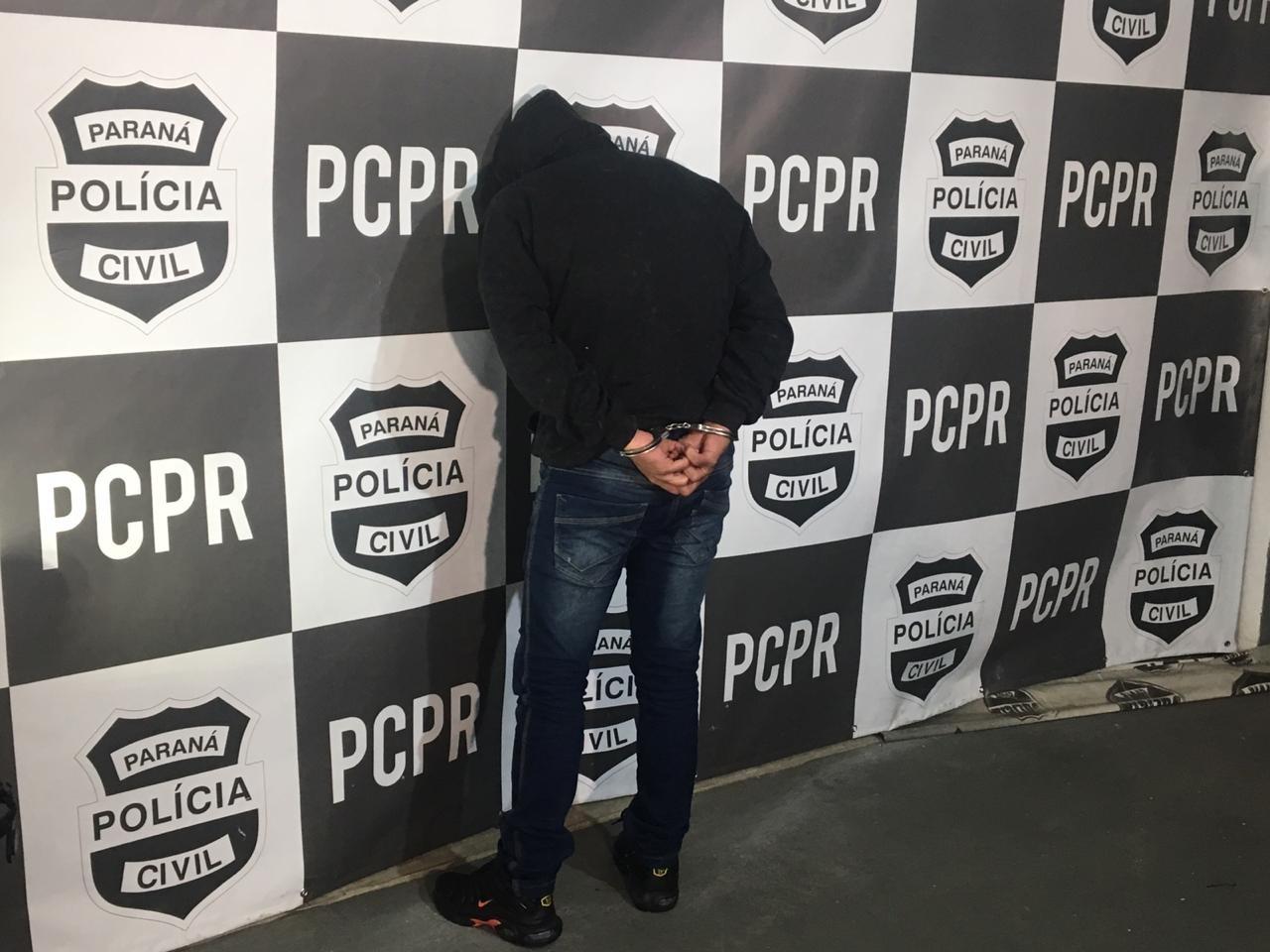 Homem é preso suspeito de manter relacionamento amoroso para aplicar golpe em mulher, no Paraná, diz polícia - Notícias - Plantão Diário