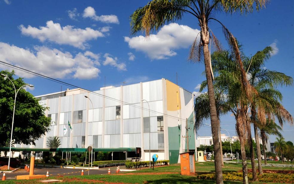 Sede da Terracap, localizada atrás do Palácio do Buriti, em Brasília (Foto: Tony Winston/GDF/Divulgação)