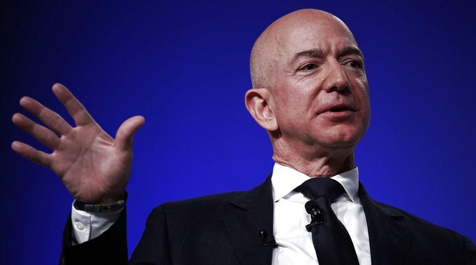 Jeff Bezos recentemente se tornou o homem mais rico da história moderna (Foto: Getty Images)