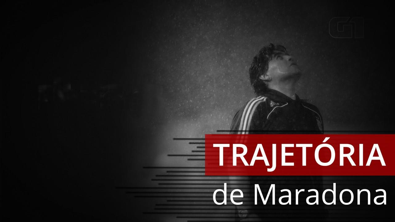 VÍDEO: a trajetória de Maradona
