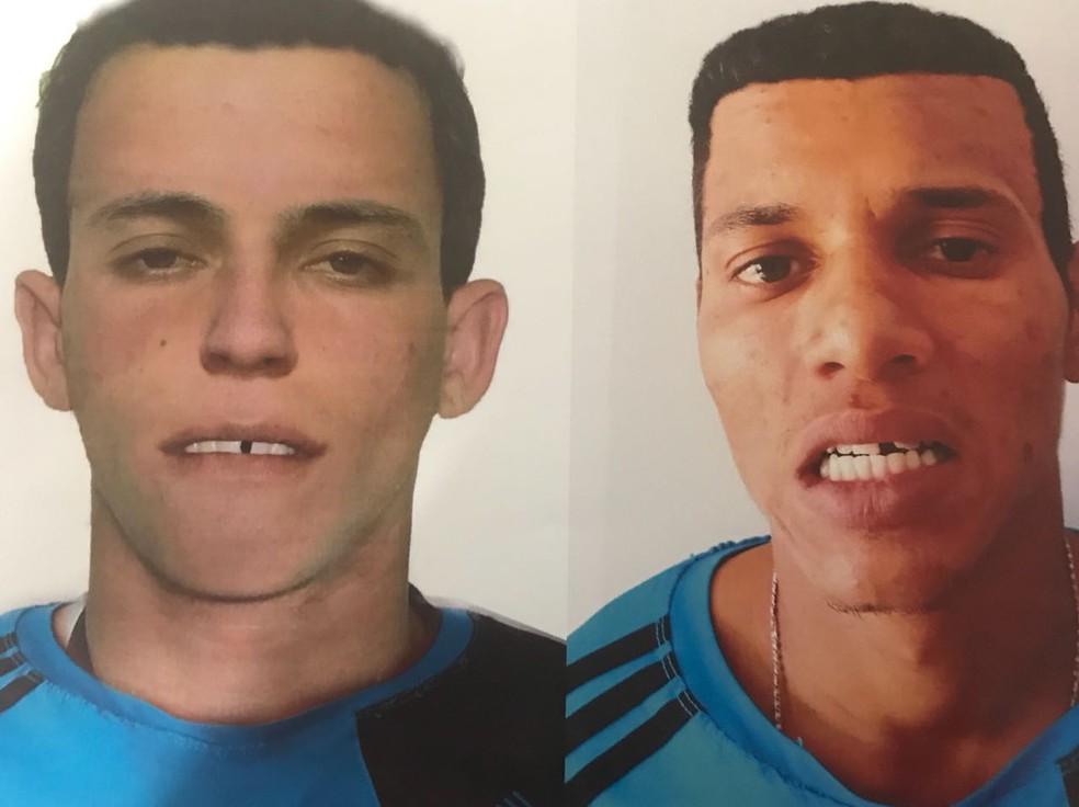 Retrato falado à época e o suspeito, Marcos Venício Gonçalves Serafim (Foto: Polícia Civil de MT/Assessoria)