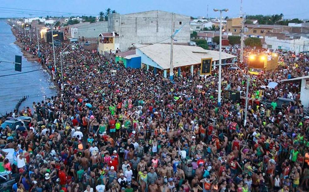 Carnaval de Macau é um dos mais tradicionais do Rio Grande do Norte (Foto: Canindé Soares)