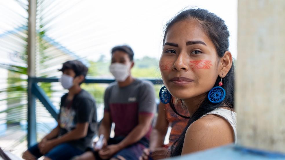 Seis áudios foram produzidos pela organização para combater fakenews entre indígenas — Foto: Divulgação