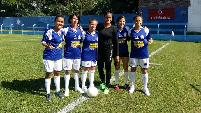 Cruzeiro-RN - Futebol Feminino - Atletas (Foto: Jocaff Souza/GloboEsporte.com)