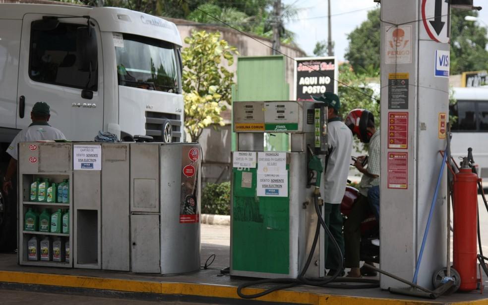 Postos foram alvo de CPI por supostos aumentos abusivos no preço do combustível — Foto: Flora Dolores/O Estado