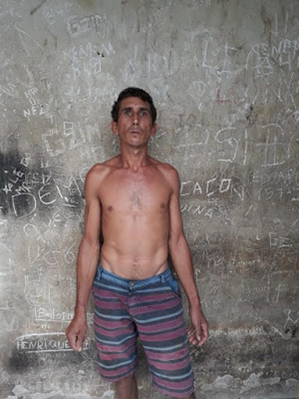Antônio de Deus Almeida do Rego foi autuado pela tentativa de feminicídio — Foto: Divulgação/Polícia