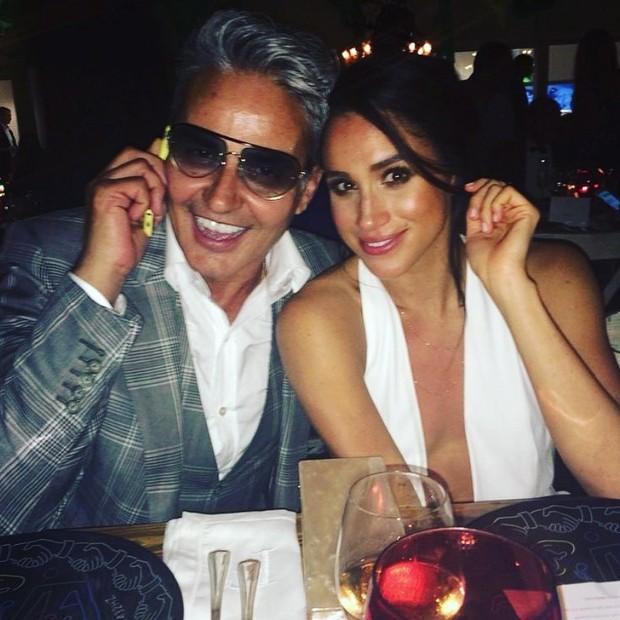 Oribe Canales e Meghan Markle (Foto: Instagram Oribe Canales/ Reprodução)