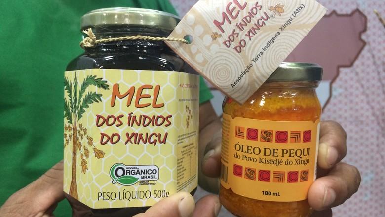 oleo-pequi-xingu (Foto: Vinicius Galera/Ed. Globo)
