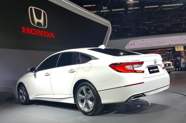 Honda Accord tem novas tecnologias semiautônomas (Foto: Ulisses Cavalcante/Autoesporte)