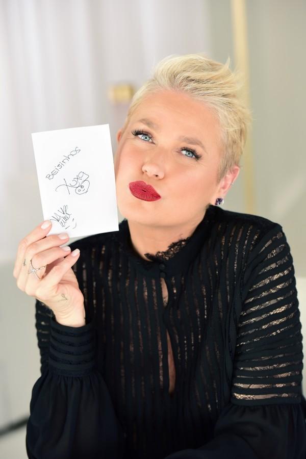 Xuxa estrela campanha da Eudora (Foto: Divulgação)