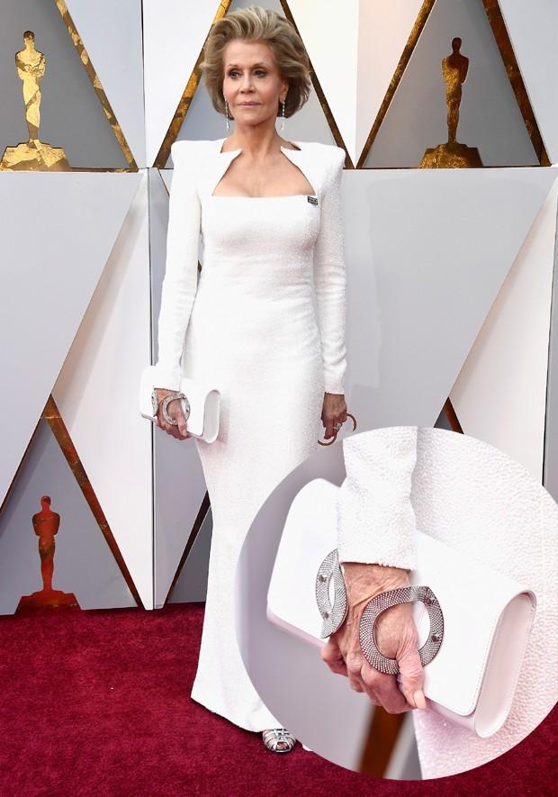 A bolsa da Jane Fonda (Foto: Getty Images)