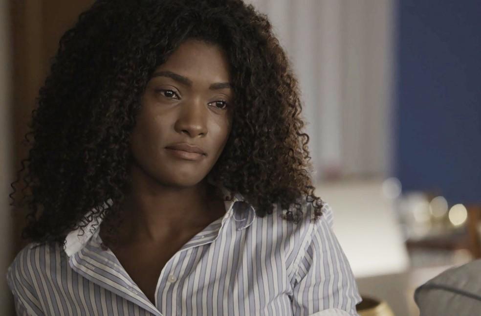 Raquel é direta com Bruno (Foto: TV Globo)
