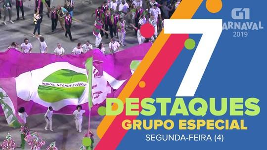 Vila Isabel, União da Ilha e Mangueira são destaques do 2º dia de desfiles no Rio