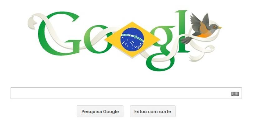 Independência do Brasil é comemorada com Doodle do Google