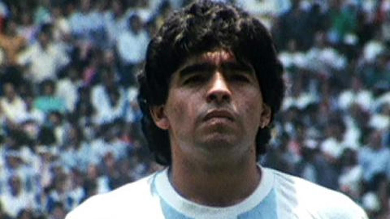 Perfil de Maradona antes da Copa de 2010