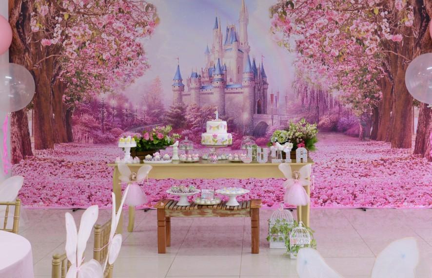 Tema de festa Jardim encantado Crescer Festa de aniversário # Decoração De Festa De Aniversario Jardim Encantado