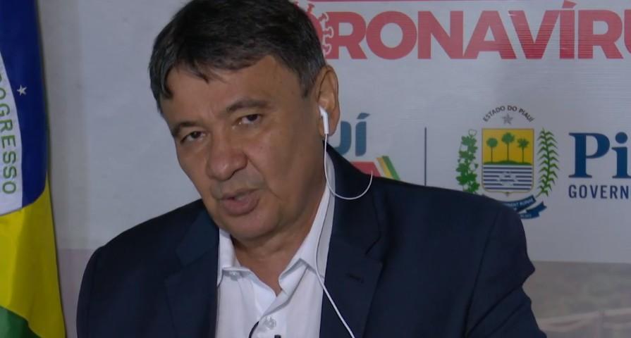 """Governador do Piauí discute """"algumas modelagens"""" sobre como reabrir economia"""