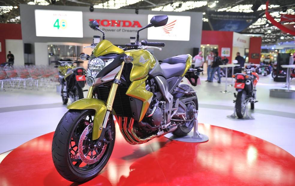 Antiga Honda CB 1000R  (Foto: Raul Zito/G1)